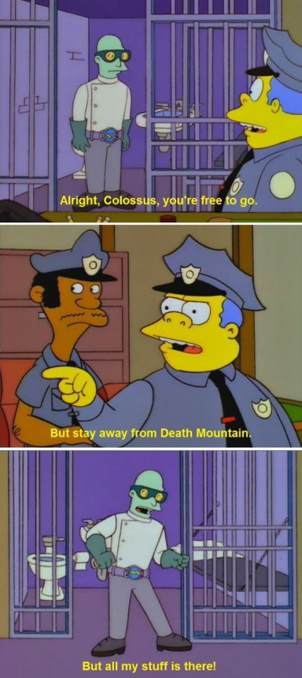 Chief Wiggum Is The Worst Cop Of All Time