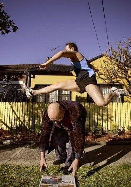 Men Doing Strange Things