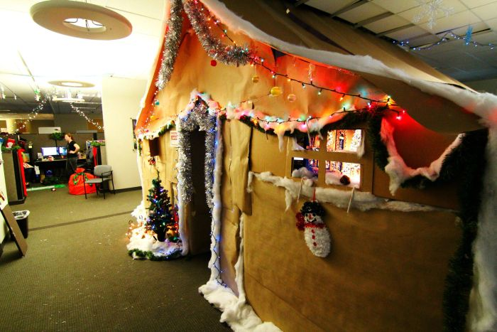 These Workers Turned Their Cubicle Into Something Incredible