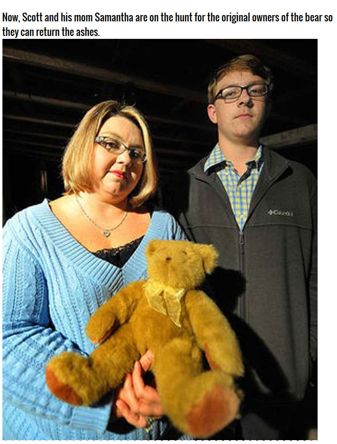 Teen Finds Shocking Surprise In A Thrift Store Teddy Bear