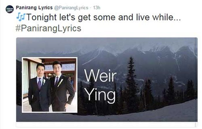 Real Names Being Used As Song Lyrics