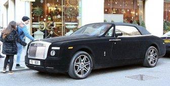 This Rolls Royce Is Covered In Velvet