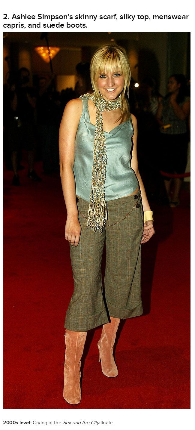 Celebrities Wearing Early 2000s Outfits That Will Make You Cringe