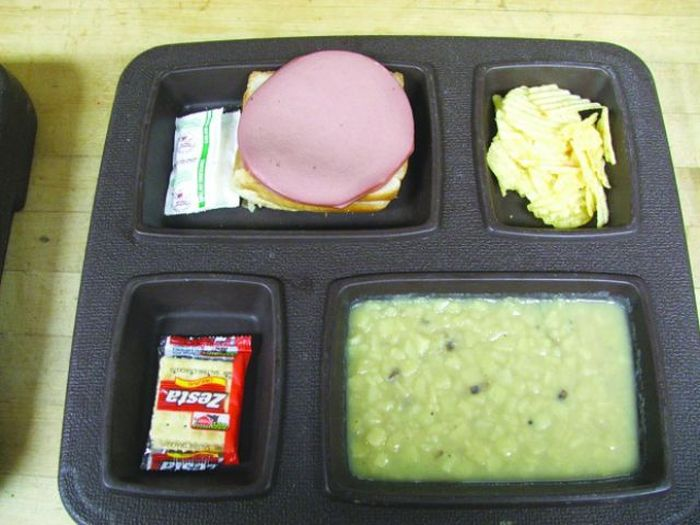 Prison Food vs. School Lunches