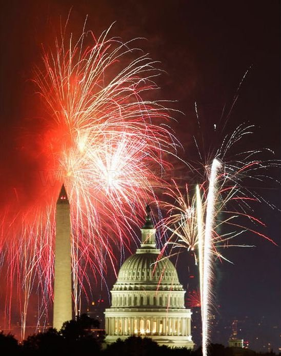 July the Fourth: Fireworks