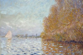An $8 Million Monet Painting Got Punched By A Man