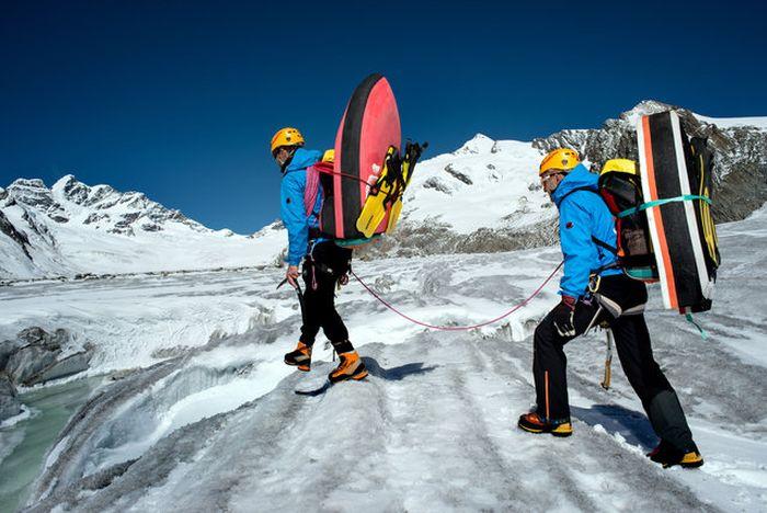 Glacial Hydro Speeding Is Extreme