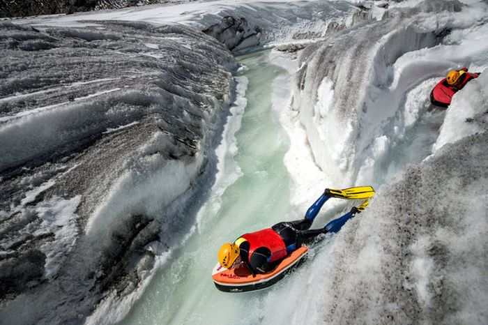 Glacial Hydro Speeding Is Extreme