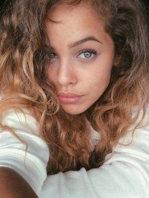 Beautiful girls eyes