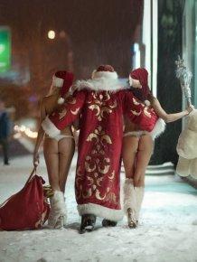 Sexy Santa Girls