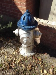 Turning A Fire Hydrant Into A Table