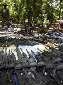 Weapons of a Mexican Drug Cartel