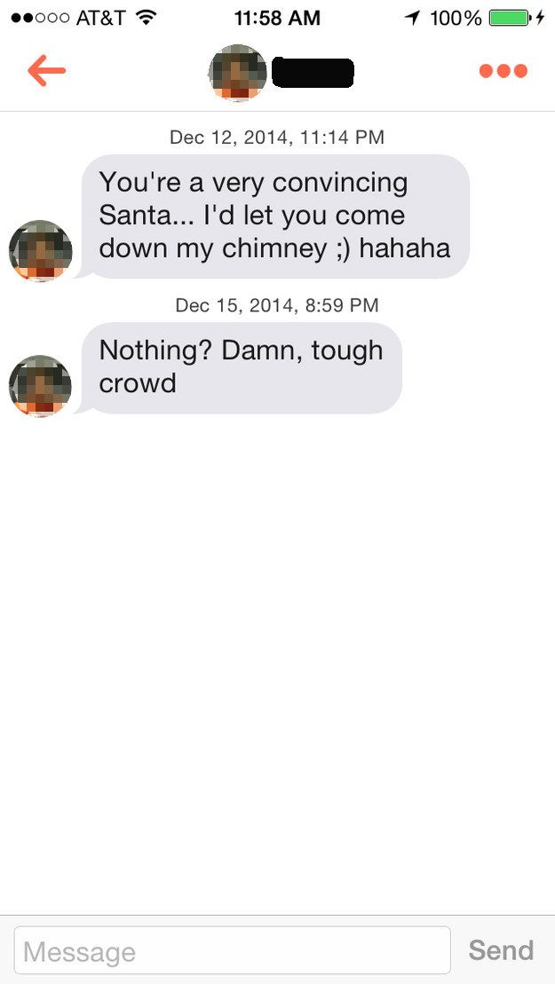 Santa Claus Is Now On Tinder