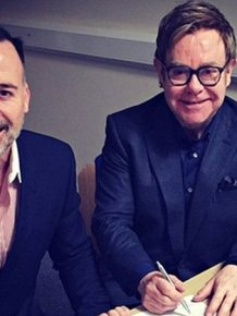 Elton John Finally Marries His Partner David Furnish