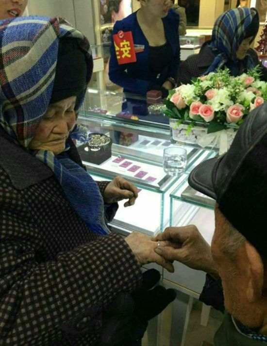 Janitor Proposes To His 80 Year Old Lover