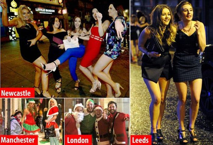 Britain Gets Taken Over By Mad Friday