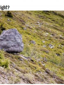 That's Not Really A Boulder, It's Actually A Cabin
