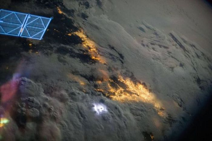 What Earth Looks Like From 200 Miles Up In Space