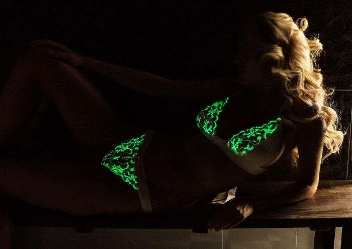 This Lingerie Glows In The Dark