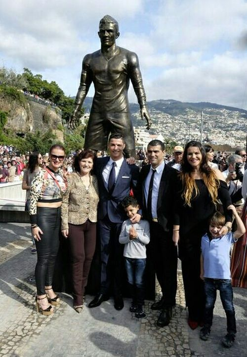 What's Up With This Statue Of Cristiano Ronaldo?