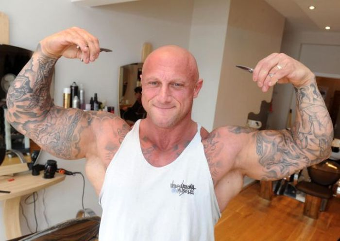 Hairstylist Eats 6,000 Calories A DAY In Hopes Of Becoming Mr. Universe