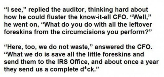 This Is How You Mess With The IRS