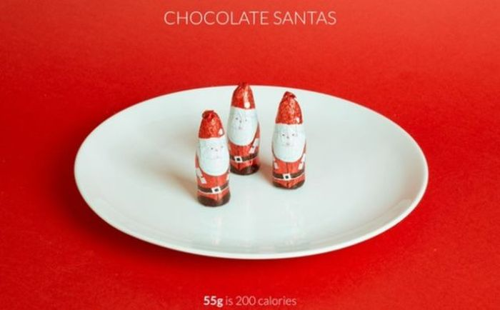 What 200 Calories Of Christmas Food Looks Like