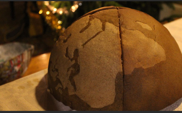 How To Make A Gingerbread Globe