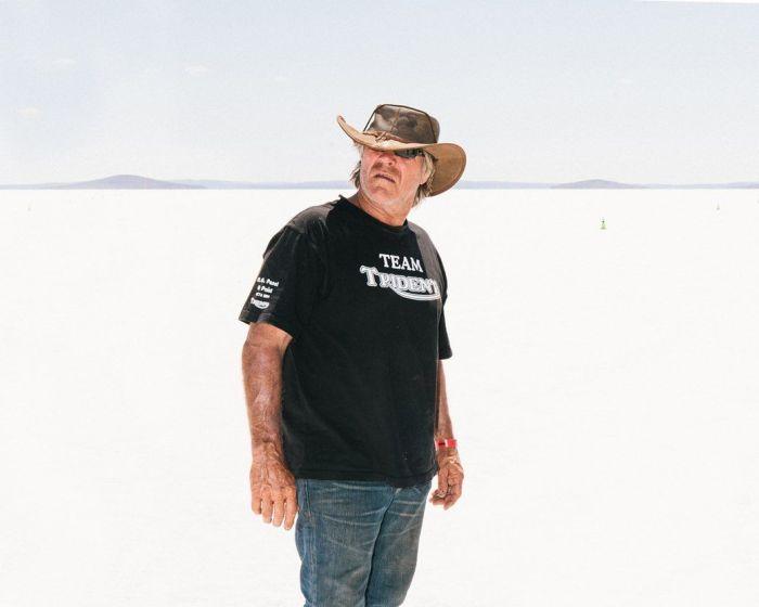Hot Rod Races In The Australian Desert
