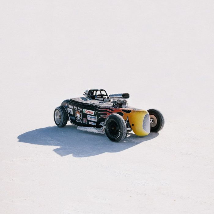 Hot Rod Races In The Australian Desert