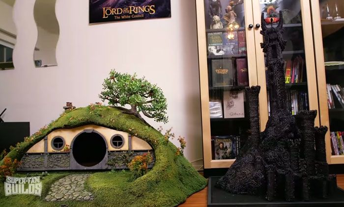 This Lord Of The Rings Litter Box Is A Cat's Dream Come True