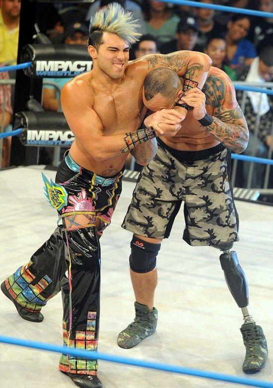 Christopher Melendez Is A Wrestler With A Prosthetic Leg