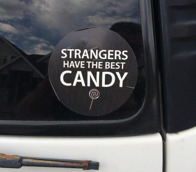 Funny And Random Bumper Stickers