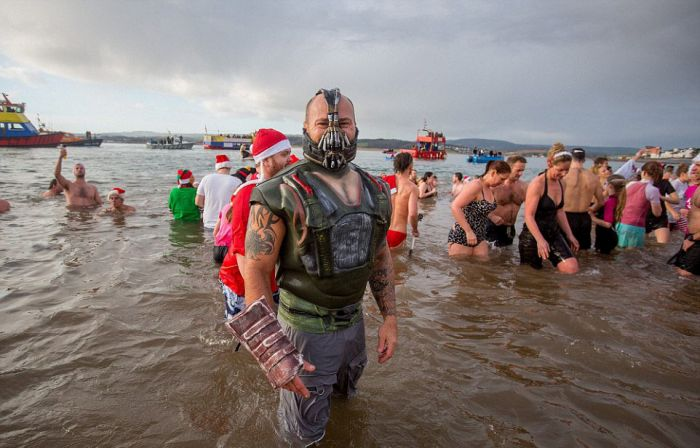The 50th Anniversary Of The Traditional Christmas Swim