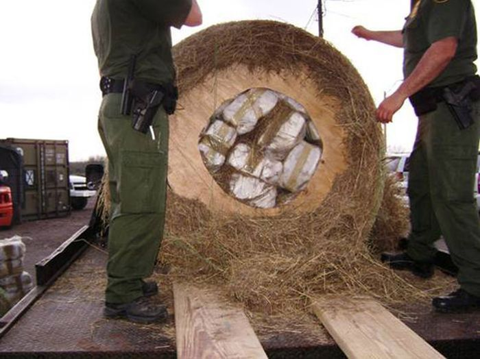 What It Looks Like When Drug Smugglers Get Creative