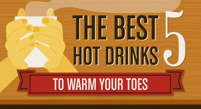 The Best Hot Drinks To Get You Through Winter