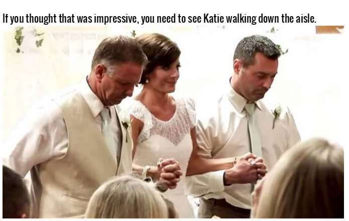 Paralyzed Bride Walks Down The Aisle On Her Own Two Feet