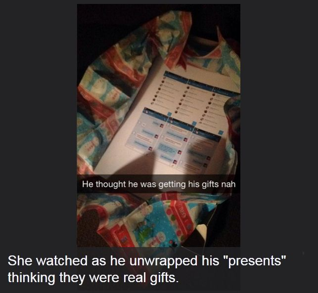 Girl Gives Cheating Boyfriend The Sweet Gift Of Revenge