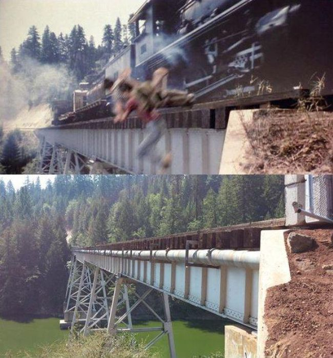 """Locations From """"Stand By Me"""" Back In The Day And Today"""