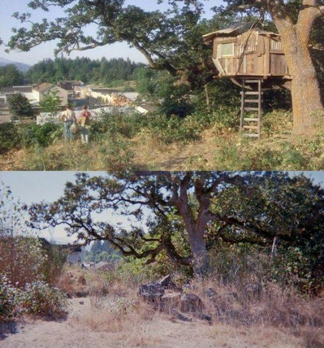 "Locations From ""Stand By Me"" Back In The Day And Today"