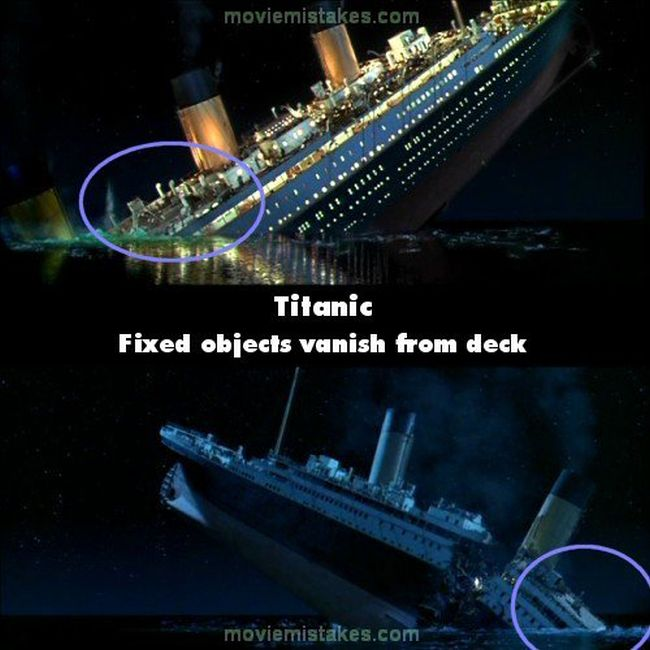 19 Huge Mistakes You Never Noticed In The Movie Titanic