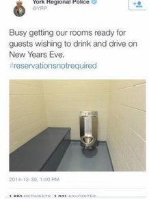York Regional Police Have The Perfect Spot For New Year's Eve