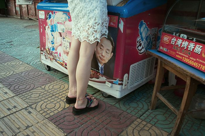 Chinese Street Photographer Captures Perfectly Timed Photos