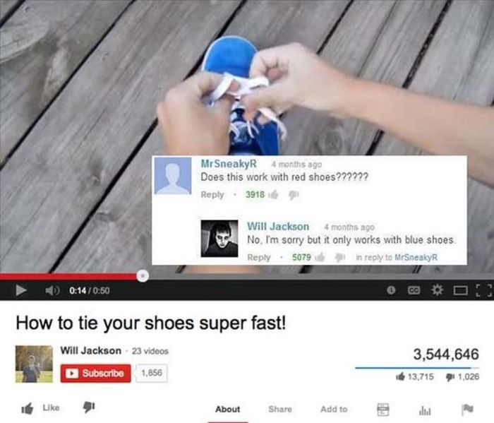 The top 25 best youtube comments of 2014 part 2014 fun for Best image comments