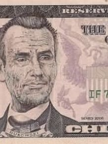 Funny $5 Dollar Bill Defaces