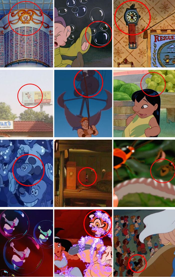 Disney Hid Mickey Mouse In Their Movies, Can You Find Him?