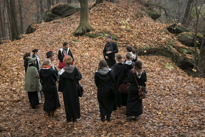 Harry Potter Role Playing In Poland