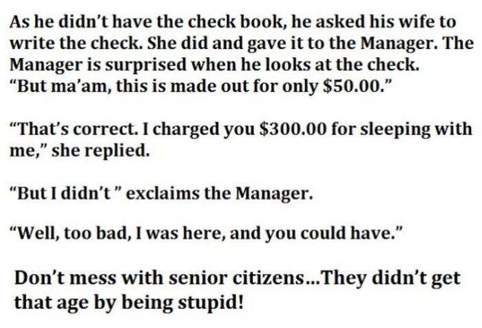 Hotel Manager Overcharges Senior Citizens But They Win In The End