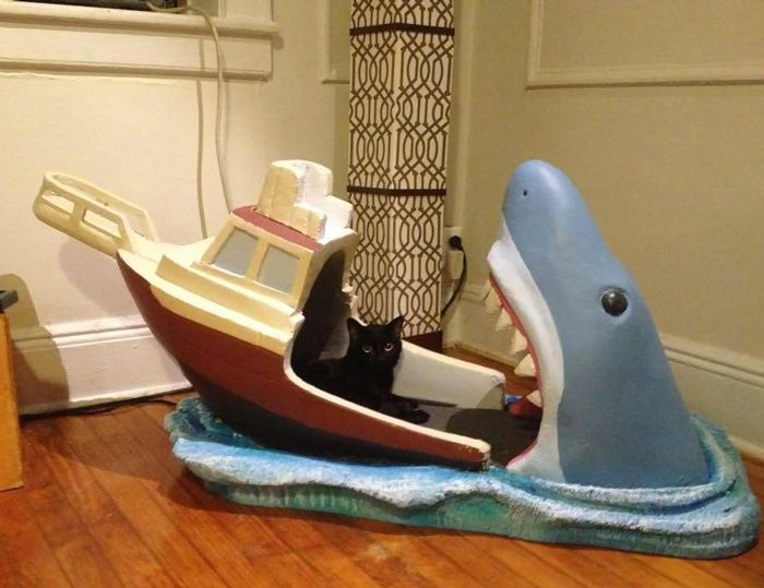 This Baby Now Has A Jaws Inspired Crib