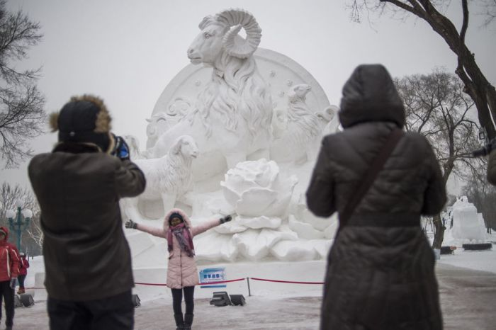 The Amazing Sculptures Of The 2015 Harbin Ice And Snow Festival
